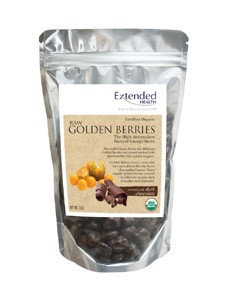 Organic DK Choc Golden Berries 6oz by Extended Health