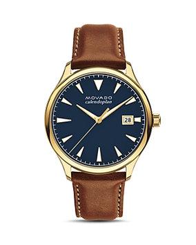 Movado Heritage Calendoplan Watch, 40mm