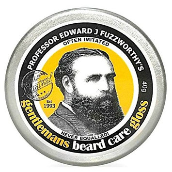 Professor Fuzzworthy's Beard Balm Gloss Leave In Conditioner All Natural Organic Beard Care with Leatherwood Honey & Essential Plant Oils | Handmade in Tasmania Australia- 40g