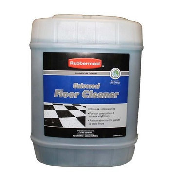 Rubbermaid Commercial Quality Universal Floor Cleaner Solution- 5 Gallons [1]