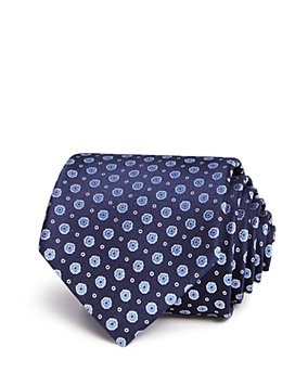 The Mens Store At Bloomingdale's The Men's Store at Bloomingdale's Mini Floral Dot Neat Classic Tie - 100% Exclusive