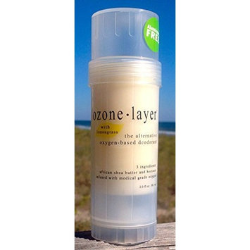 Ozone Layer Deodorant with Lemongrass Essential Oil - The All Natural Oxygen Based Deodorant 2oz