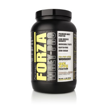 Forzagen Forza Whey-Pro 100% Premium Whey Protein, 25g Protein, 26 Servings - Cookies & Cream