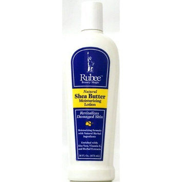 Rubee Natural Shea Butter Moisturizing Lotion 16.9 oz.