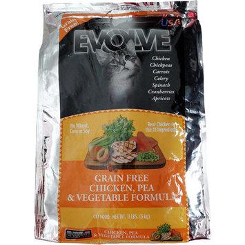 Evolve Grain Free Chicken, Pea & Vegetable Formula Cat Food, 11.0 LB