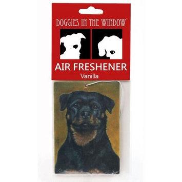 Doggies in the Window Rottweiler Air Freshener, Vanilla