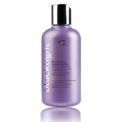 Oligo Professionnel Blacklight Blue Shampoo (8.5 Ounce) Protect Color Treated Hair | Extend Coloring, Lustrous Shine | Vegan Friendly
