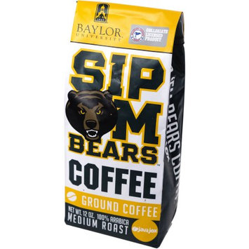 40 Days, Llc Java Jox Baylor University Sip 'Em Bears Coffee Ground Coffee, 12 oz