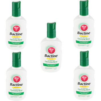 5 Pack Bactine Pain Relieving Cleansing Spray Infection Protection 5 oz