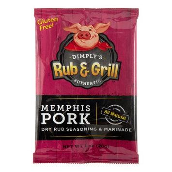 Dimply 258179 1 oz. Dry Rub Memphis Pork