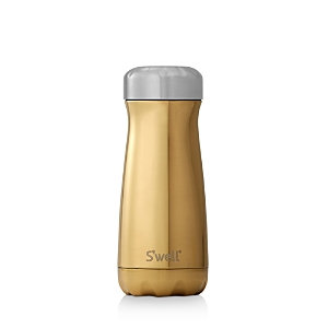 Swell S'Well Traveler Yellow Gold Insulated Stainless Steel Water Bottle, Size 16 oz - Metallic