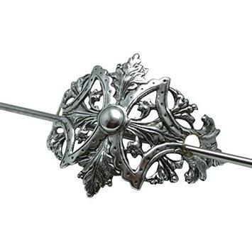 Art Nouveau inspired hair stick pony tail holder Shawl Holder Angelina Verbuni Designs USA