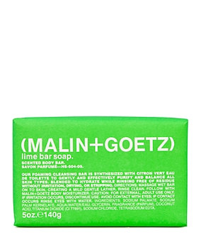 Malin+Goetz Lime Bar Soap-Colorless