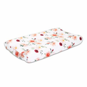 The Peanut Shell Rose Changing Pad Cover By The Peanutshell Changing Pad Cover