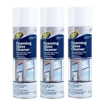 Zep Commercial ZUFGC19 19 Oz Zep Foaming Glass Cleaner (3 pack)