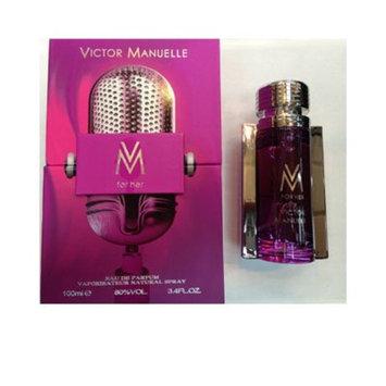 VM For Her FOR WOMEN by Victor Manuelle - 3.4 oz EDP Spray