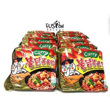 Fusion Select Samyang Hot chicken Curry flavor ramen Halah 4.93 oz (140g) x10