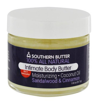 Southern Butter Lubricant & Sensual Body Butter, Sandalwood & Cinnamon, 2 oz