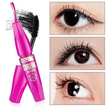 CYCTECH 3D Fiber Mascara - 100% natural Fibers-Get Thick, Long, Voluminous Effect-Waterproof-Long Lasting - Magnetic Look- Impressive Eyes