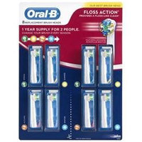 Oral B Precision Clean Powered Toothbrush Replacement Brush Heads, 8 Ct