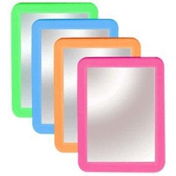 BOARD DUDES Colored Plastic Framed Locker Mirror 5x7
