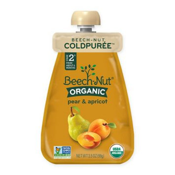 Beech-Nut® Organic Stage 2 Pear and Apricot Cold Purée