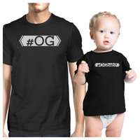 OG T-Shirt OG Baby Tee Funny Dad And Baby Matching T-Shirts Gifts