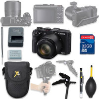 Als Variety Canon PowerShot G3 X Digital Camera with 32GB SD Memory Card + Accessory Bundle