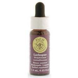 Larkspur Dropper, 0.25 oz, Flower Essence Services