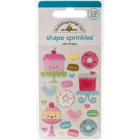 Doodlebug Cream & Sugar Sprinkles Shape CakeShoppe