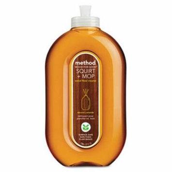 Method Wood Floor Cleaner, 25-oz, Almond Scent, 6 Squirt Bottles (MTH00562CT)