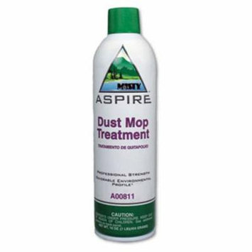 Misty Aspire Dust Mop Treatment, Lemon, 20-oz. Aerosol, 12 Cans (AMR1038049)