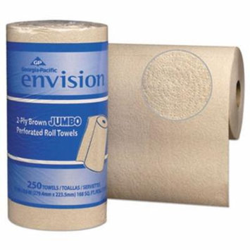 Envision 28290 Kitchen 2-Ply Paper Towel Rolls, 12 Rolls (GPC28290)