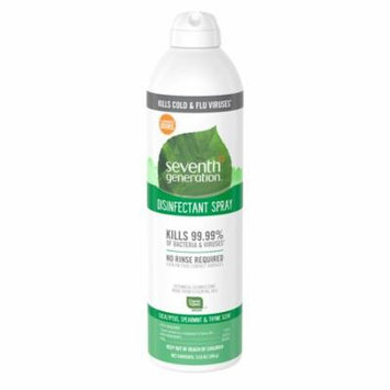 Seventh Generation Disinfectant Spray, Eucalyptus Spearmint & Thyme Scent, 13.9 Ounce (Pack of 4)
