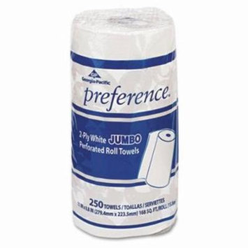 Preference 27700 Kitchen 2-Ply Paper Towel Rolls, 12 Rolls (GPC27700)