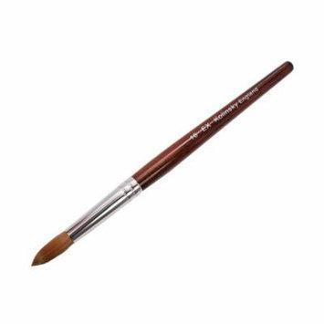 EX Kolinsky Acrylic Nail Brush for Acrylic Powder Manicure Pedicure - Size #16