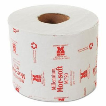 Morcon Morsoft Bath Tissue, 2-Ply, Individually Wrapped, 48 Rolls (MORM750)