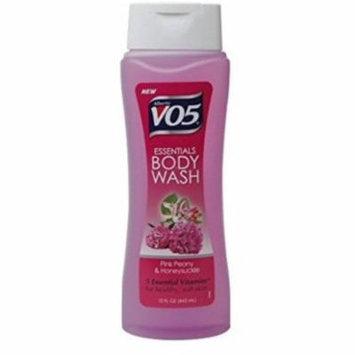 4 Pack - Alberto VO5 Essentials Body Wash, Pink Peony and Honeysuckle, 15 oz