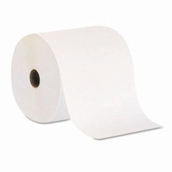 Envision 800 ft White Hard Roll Paper Towels, 6 Rolls (GPC26601)