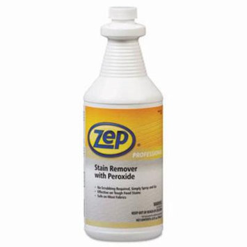 Zep Professional Stain Remover with Peroxide, Quart Bottle (ZPP1041705)