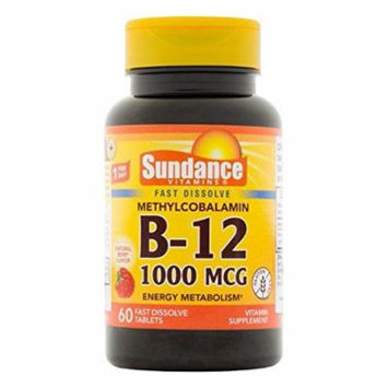 3 Pack Vitamin B12 1000mcg Methylcobalamin Natural Berry Flavor 60 Tablets Each