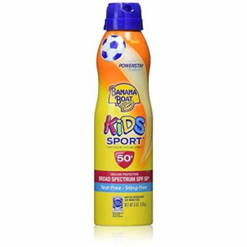 Banana Boat Kids Sport Tear-Free Sunscreen (Pack of 10)