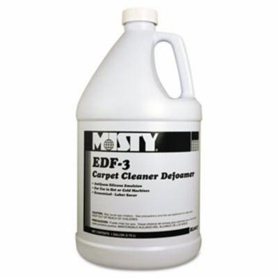 Misty EDF-3 Carpet Cleaner Defoamer, 1 gal. Bottle, 4/Carton (AMR1038773)