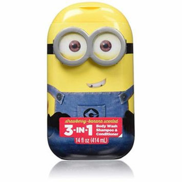 Minions 3 in 1 Body Wash (Pack of 2)