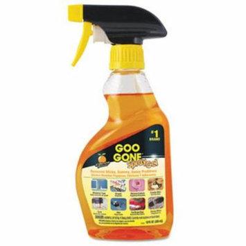 Goo Gone Spray Gel Surface Cleaner, Citrus Scent, 12 oz Spray Bottle (WMN2096EA)