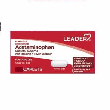 Leader Acetaminophen, Xtra Strength, 500mg, Cap, 24ct 096295134667C194
