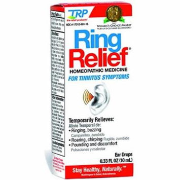 The Relief Products Ring Relief Formula Ear Drops