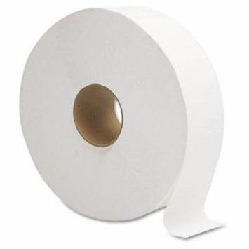 Gen JRT Jumbo Bath Tissue, 1-Ply, White, 12