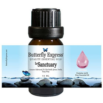 Le Sanctuary Essential Oil Blend 10ml - 100% Pure - by Butterfly Express