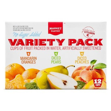 Fruit Cup Variety 12ct - Market Pantry™